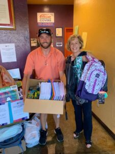 SAFE School Supply Drive Donation